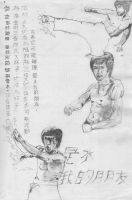 Bruce Lee Philosophy sketch by vindicator01