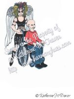 Goth Guardian Angel For Teens by Katrina1944