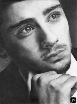 Zayn Malik Drawing 2 by jsanmateo