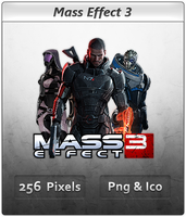 Mass Effect 3 - Icon 4 by Crussong
