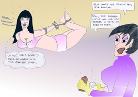 Kidnapped by Laura Mischief - coloured by EnglishDamsel