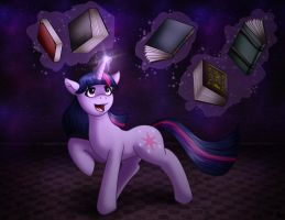 Twilight and her books by Evil-Rick