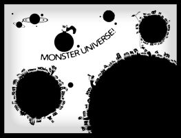 Monster Universe by Trelela