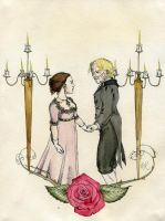 The Rose and Thorn by Kitty-Grimm