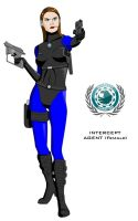INTERCEPT agent - female by Dangerman-1973