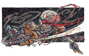 Grey-Fox by illustrated1
