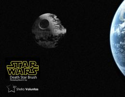 Death Star Photoshop brush by stella-voluntas