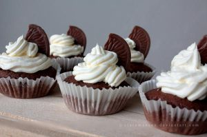 Terry's Chocolate Orange Cupcakes by claremanson