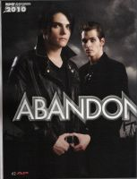Gerard and Mikey scan by Eilyn-Chan