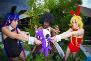 PMX2011 - Panty and Stocking by MikeRollerson