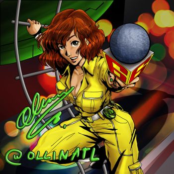 April O'Neil Daring Reporter by Ollinatl
