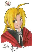 Edward Elric by NeroStreet