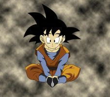 Goten Coloured by YoungTalent93