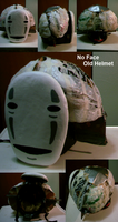 Old No Face Helmet by Sunnybrook1