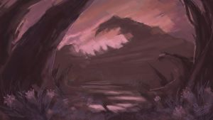 Pink planet by other-suteki