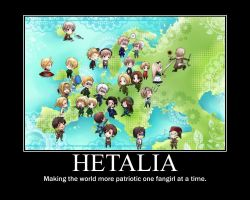 Hetalia Motivational Poster by JumperxMelon