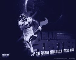 Arian Foster by xman20
