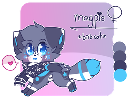 = Magpie Ref | March 2017 = by ChaiFoxi