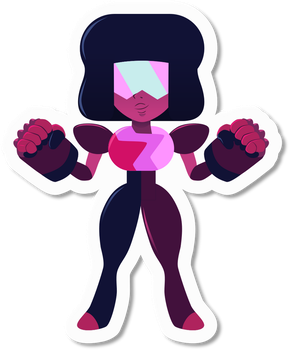 Garnet Sticker by ZeekMacard