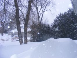 march 13th winter storm 5 by BlueIvyViolet
