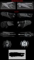 Contention: UNMC Paladin-class destroyer remake by Malcontent1692