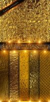 Gold embossing textures by DiZa-74