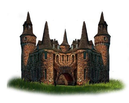 Png Castle 2 by Moonglowlilly