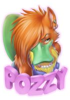 Pozzy Portrait by playfurry