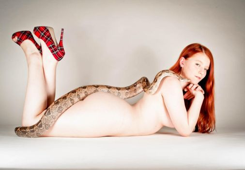 Lilith and the snake by Asylum-Tragedy