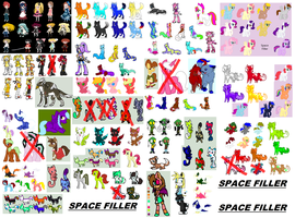 LARGEST ADOPT DUMP EVER MADE!!!!!!!! by Honey-PawStep