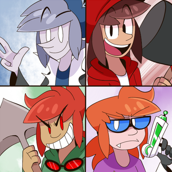Another Redraw by Toyoburrito