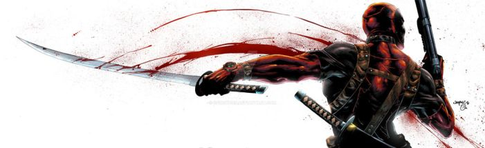 Deadpool colors by spidey0318