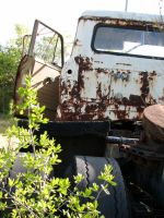 Rusted Truck 2 by Altaria13-Stock