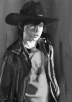 Carl Grimes by NitroYouthNRG