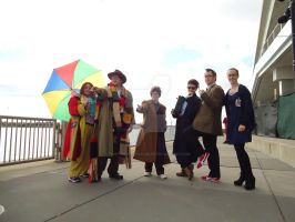 Youmacon 2014 DOCTOR WHO by TimeyWimeyWearables