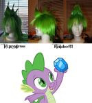 M.L.P F.I.M Cosplay: Spike Wig by KisaAoi