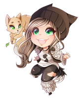 Gaia Chibi Commission #2 by Lynnrenk