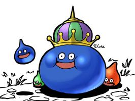 Dragon Quest Slimes by rongs1234