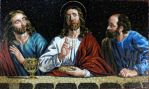 mosaic-last supper by MinaNashed
