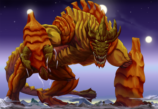 The Behemoth Star Tyrant by A3DNazRigar