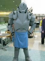 Alphonse Cosplay AX 2009 by ShipperTrish