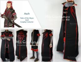 Asch Cosplay by miccostumes