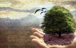 The Earth Is In Your Hands by UNDR4