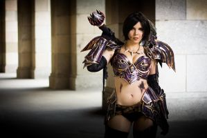 Warrior Tier 5 - World of Warcraft by KamuiCosplay