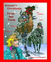 Season's Greetings 2008 by DonnaBarr