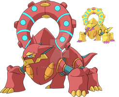721 - Volcanion by Tails19950