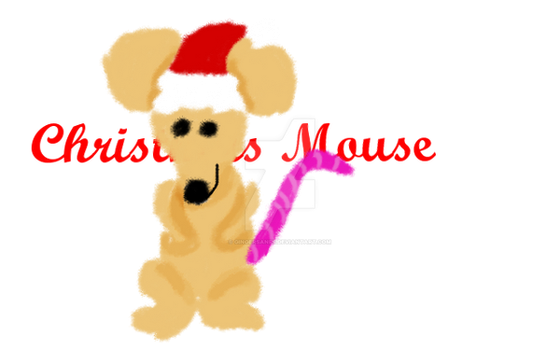 Christmas Mouse by Gingersanps