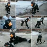 Houndoom Quadsuit Refurbish by SaltyPuppy