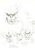 Groot Sketches by ayelid