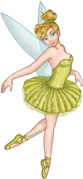 Tink Ballerina by UsuallyTalented